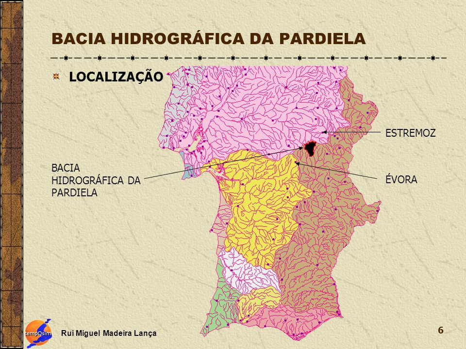 BACIA HIDROGRÁFICA DA PARDIELA