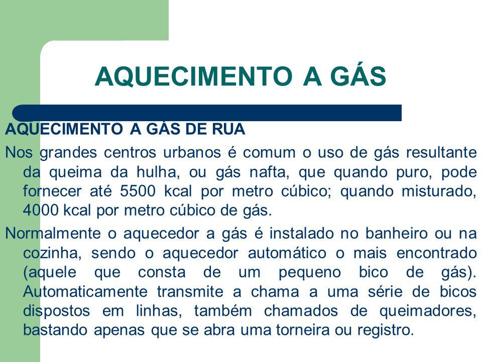Aquecimento a Gás Aquecimento a Gás de Rua