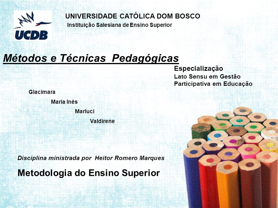 Especialização Lato Sensu em Gestão Participativa em Educação