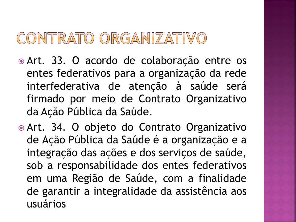 Contrato organizativo