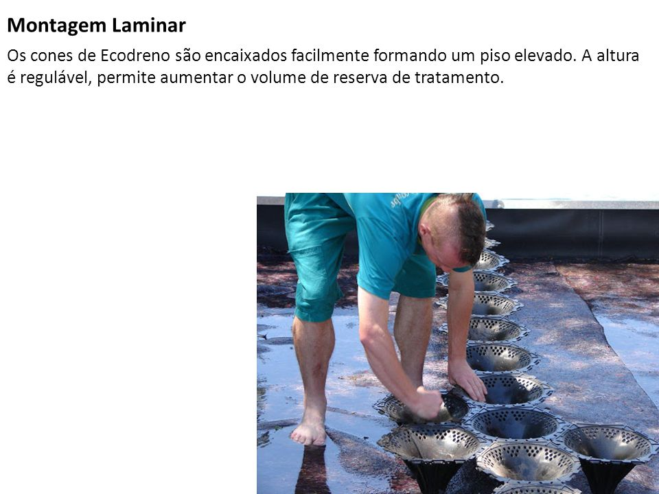 Montagem Laminar