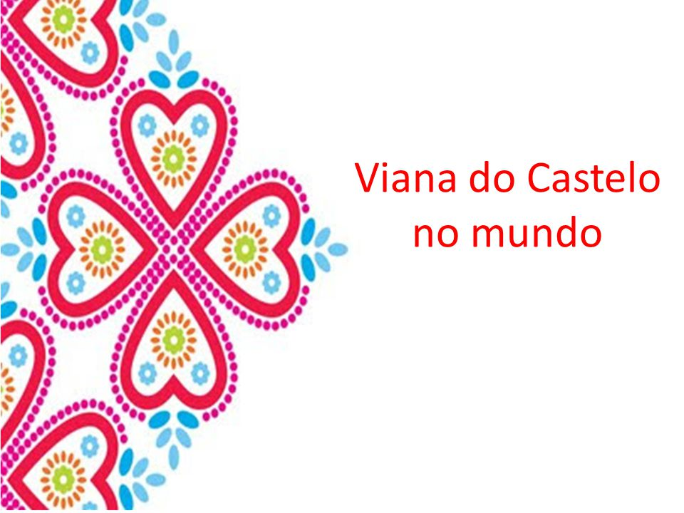 Viana do Castelo no mundo