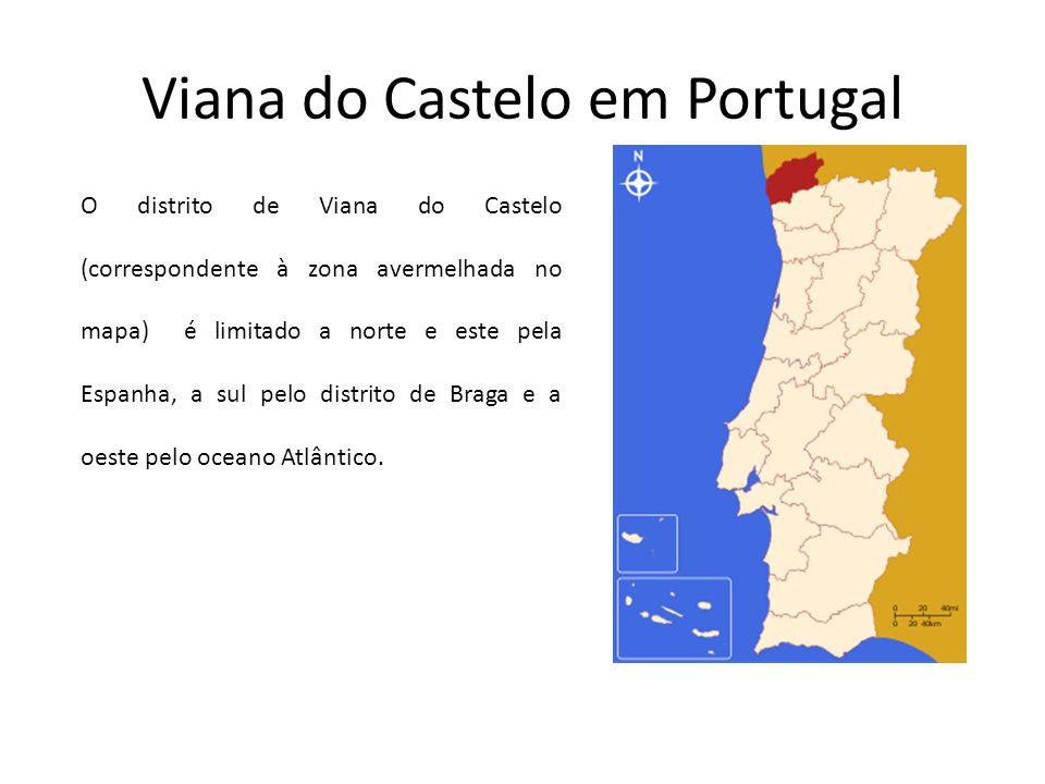 Viana do Castelo em Portugal