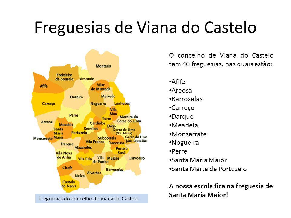 Freguesias de Viana do Castelo
