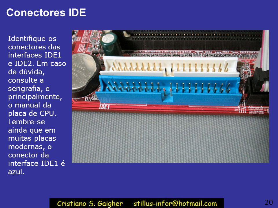 Conectores IDE