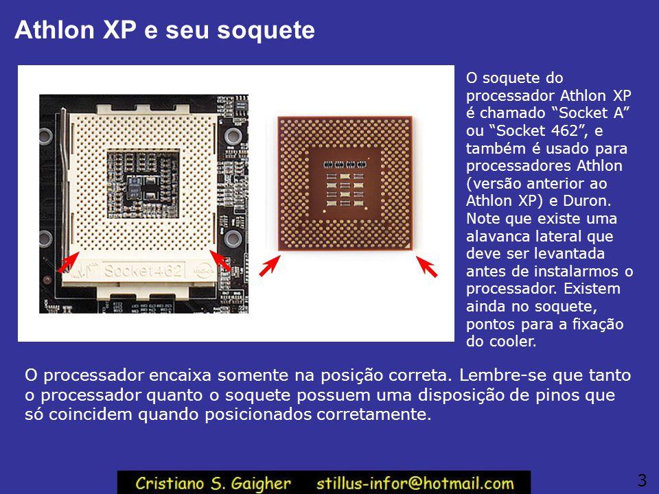 Athlon XP e seu soquete