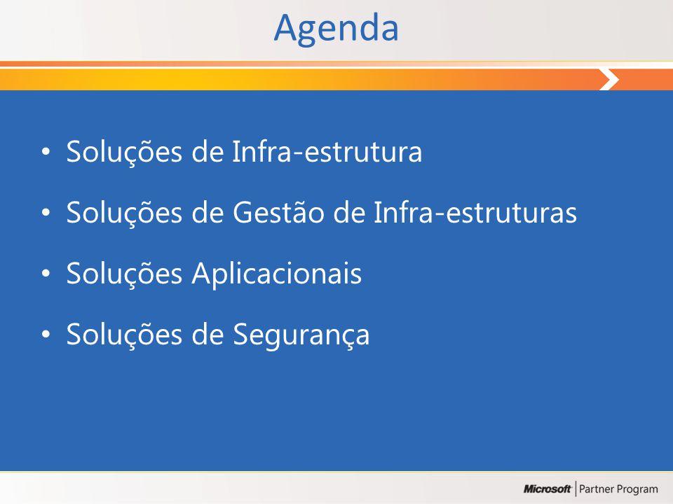 Agenda Soluções de Infra-estrutura