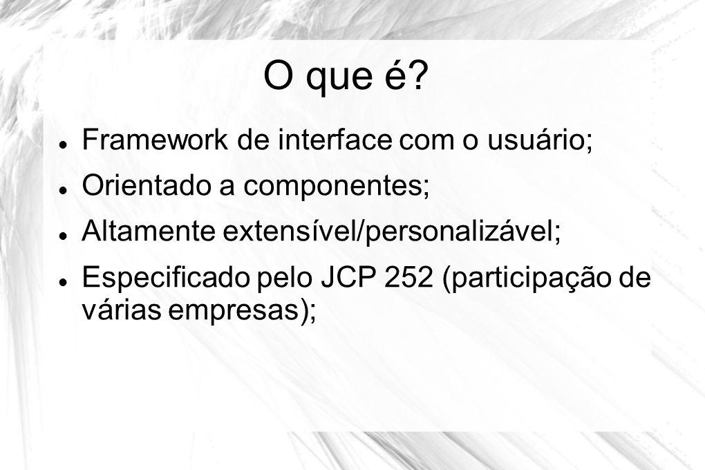 O que é Framework de interface com o usuário;