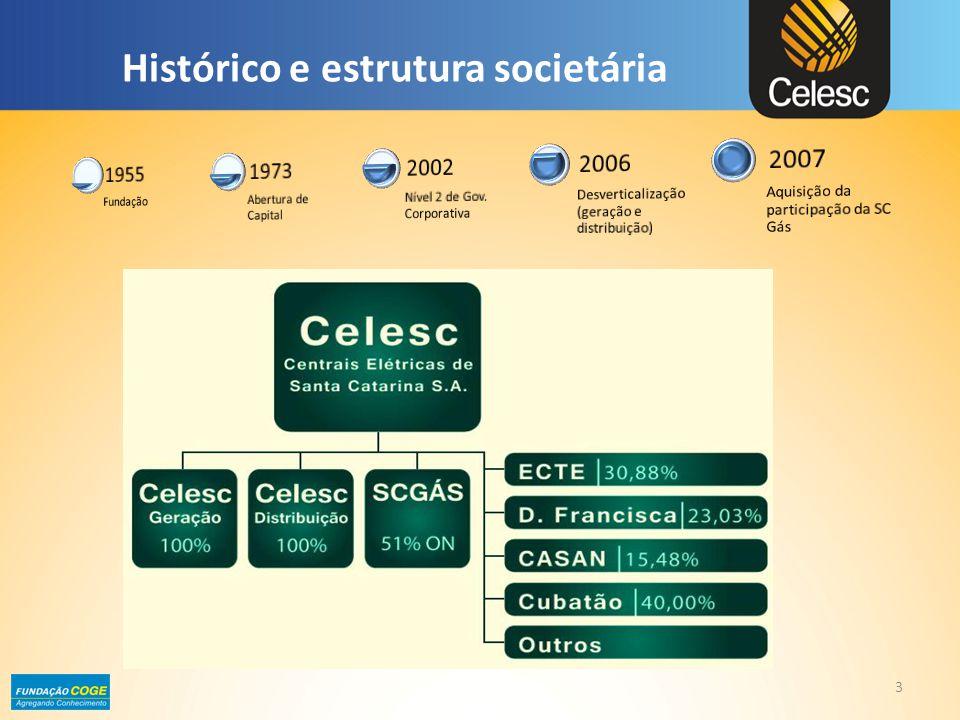 Histórico e estrutura societária