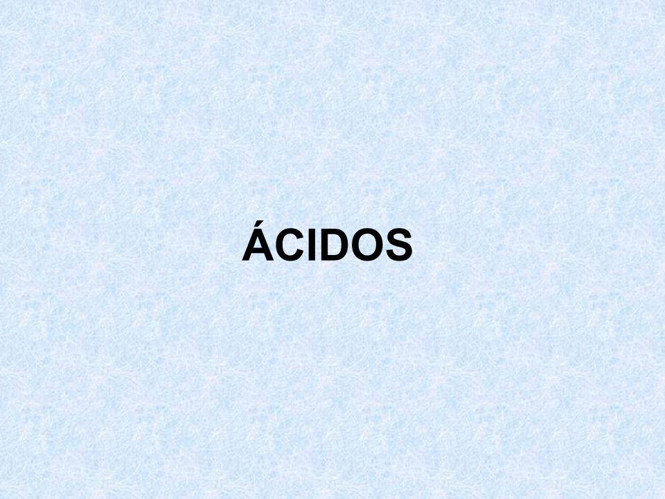 ÁCIDOS