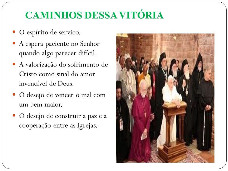 CAMINHOS DESSA VITÓRIA
