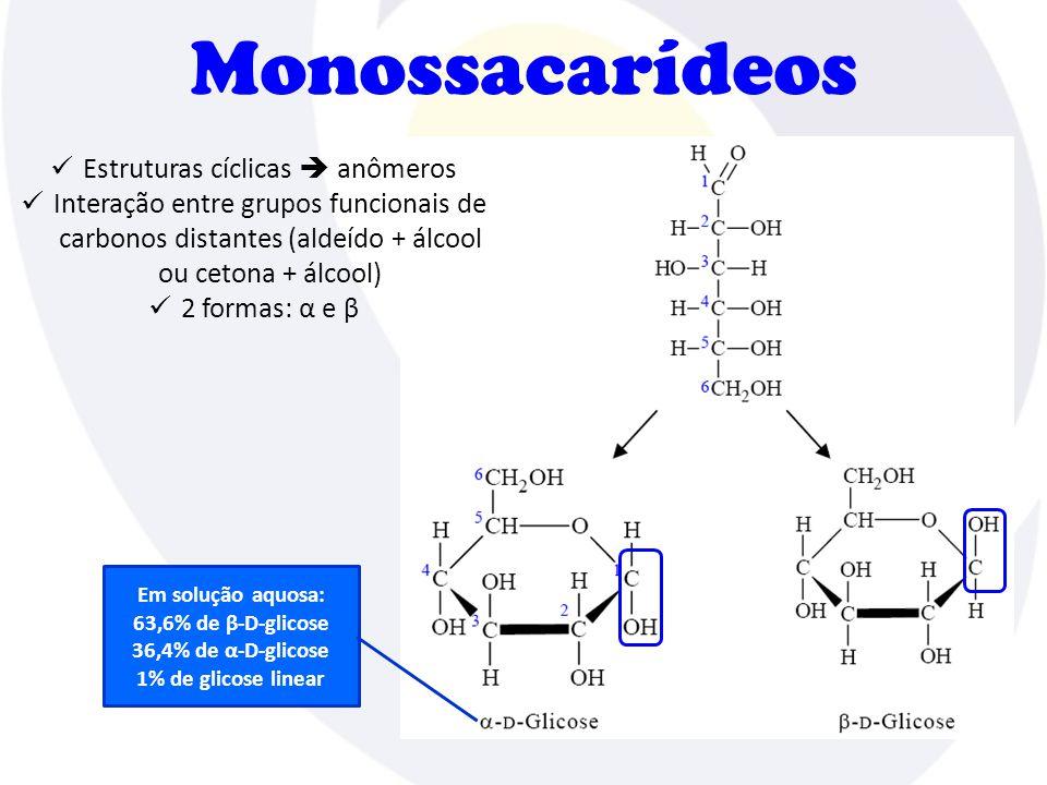 Estruturas cíclicas  anômeros