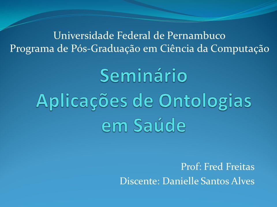 Seminário Aplicações de Ontologias em Saúde