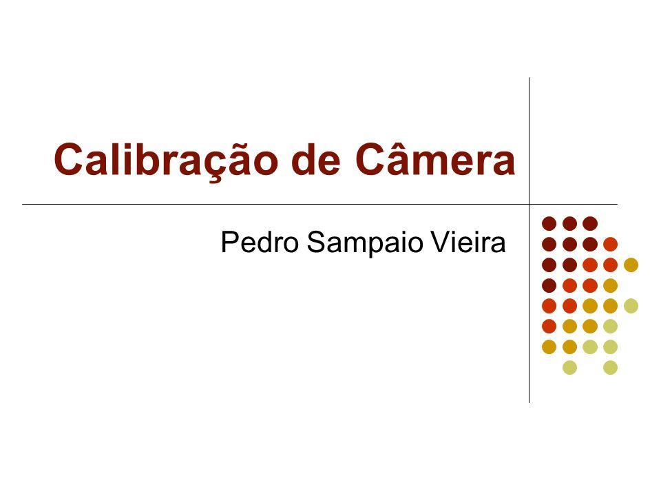 Calibração de Câmera Pedro Sampaio Vieira