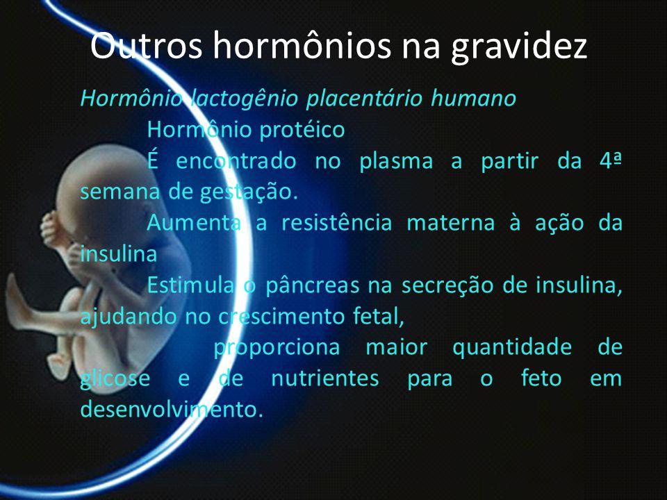 Outros hormônios na gravidez