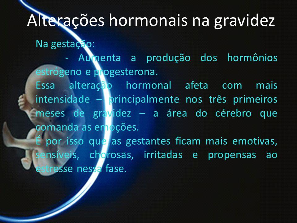 Alterações hormonais na gravidez