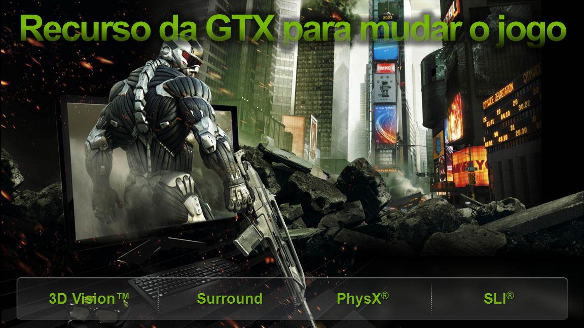 Recurso da GTX para mudar o jogo