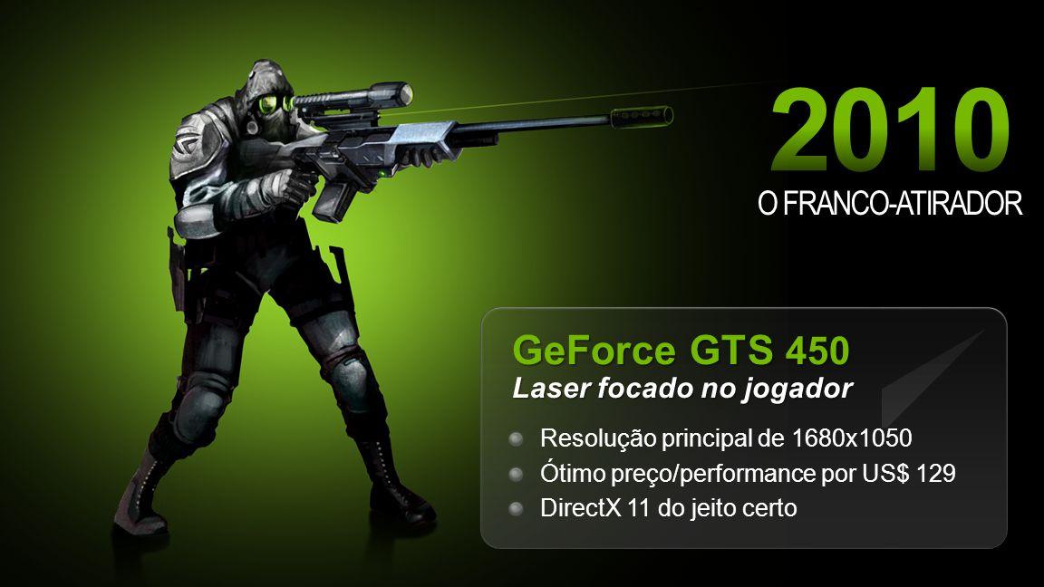 GeForce GTS 450 Laser focado no jogador