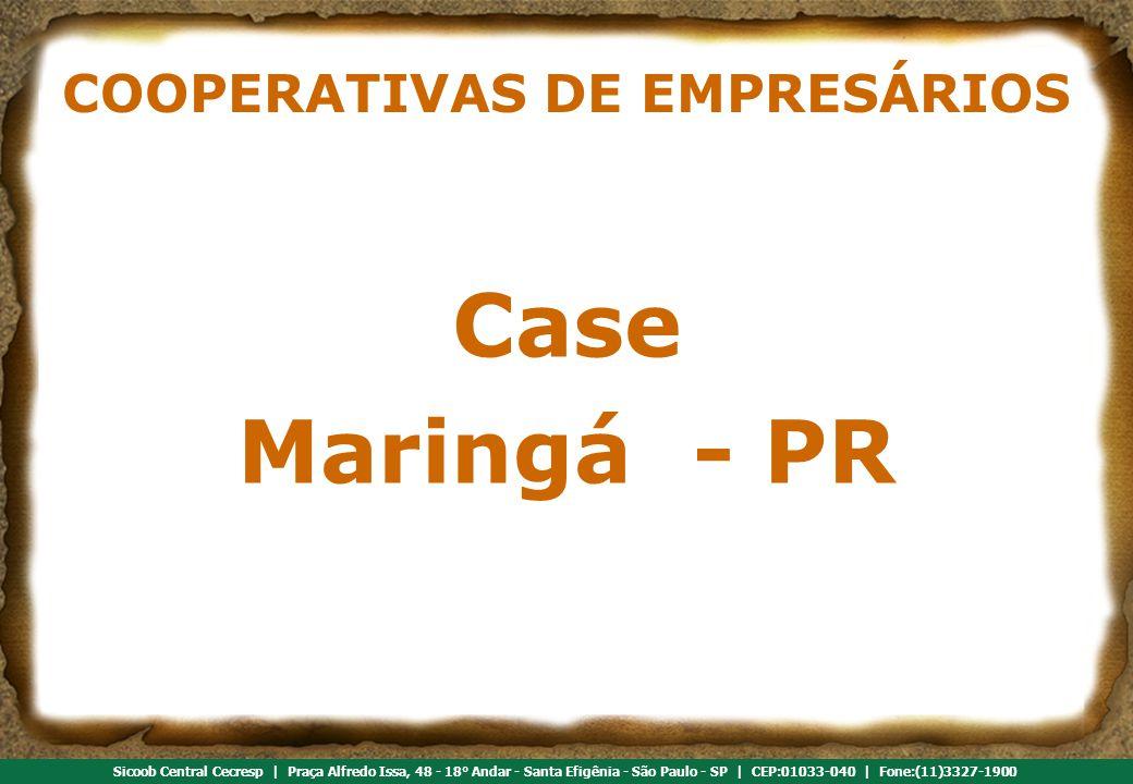 COOPERATIVAS DE EMPRESÁRIOS