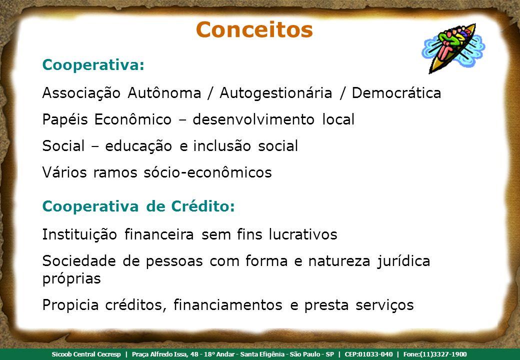 Conceitos Cooperativa: