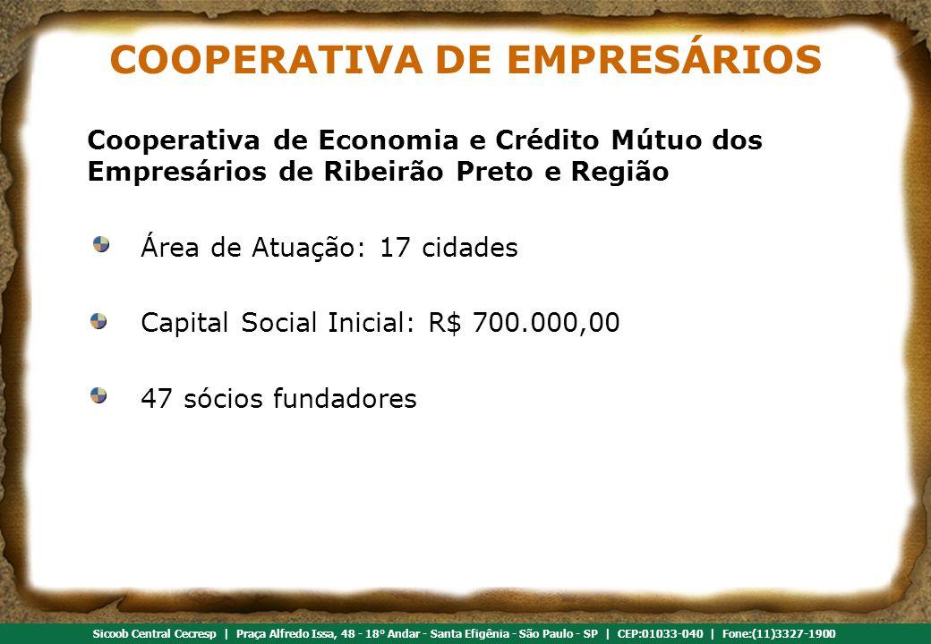 COOPERATIVA DE EMPRESÁRIOS