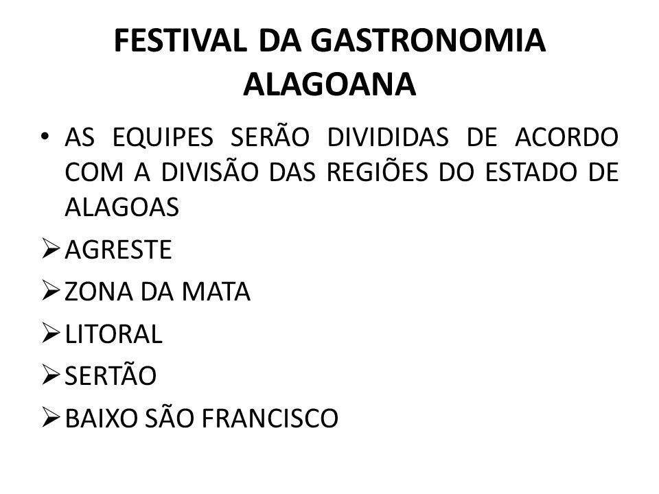 FESTIVAL DA GASTRONOMIA ALAGOANA