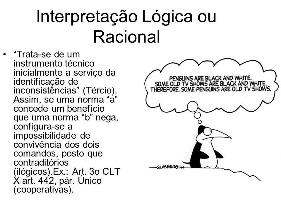 Interpretação Lógica ou Racional