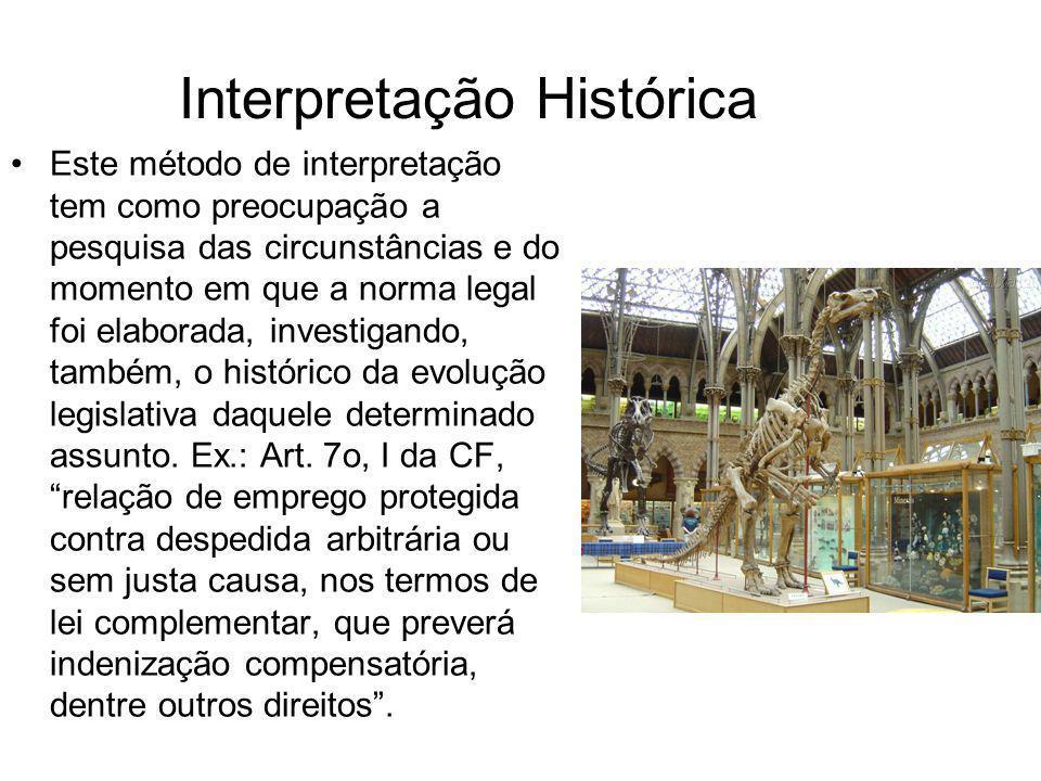 Interpretação Histórica
