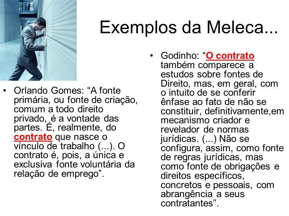 Exemplos da Meleca...