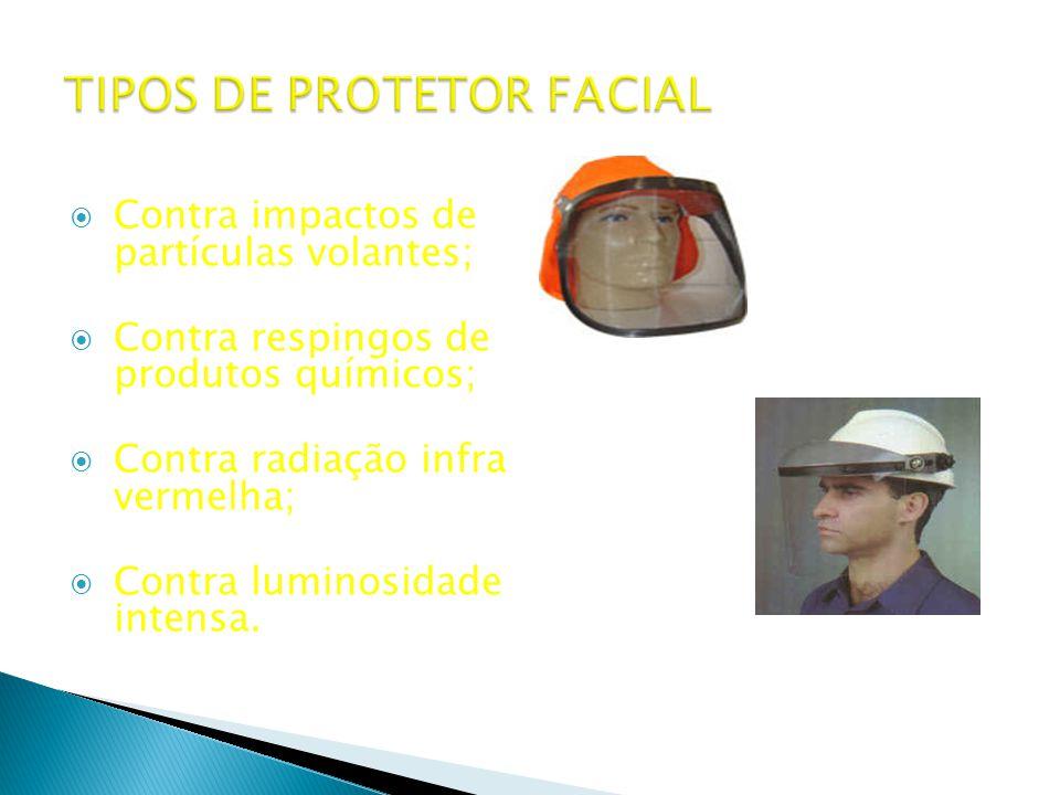 TIPOS DE PROTETOR FACIAL