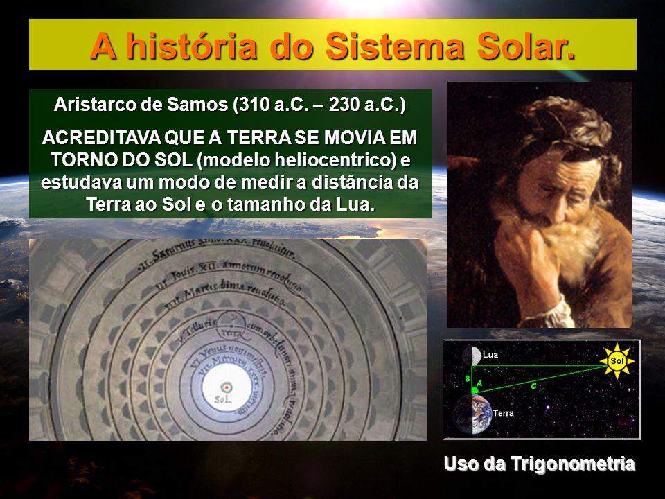 A história do Sistema Solar. Aristarco de Samos (310 a.C. – 230 a.C.)