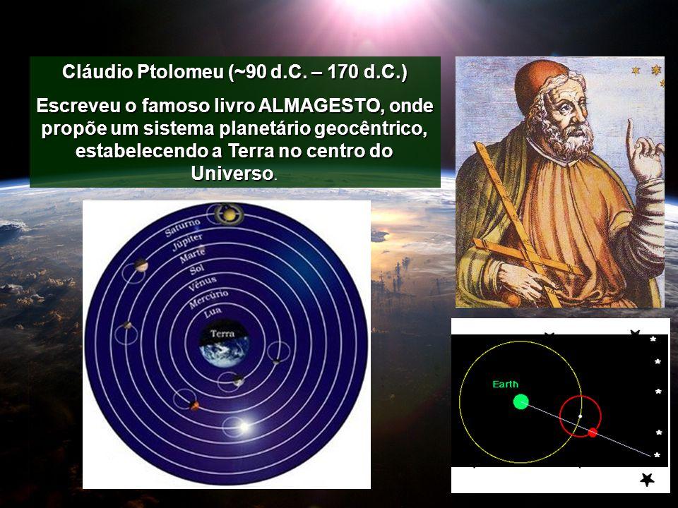 Cláudio Ptolomeu (~90 d.C. – 170 d.C.)