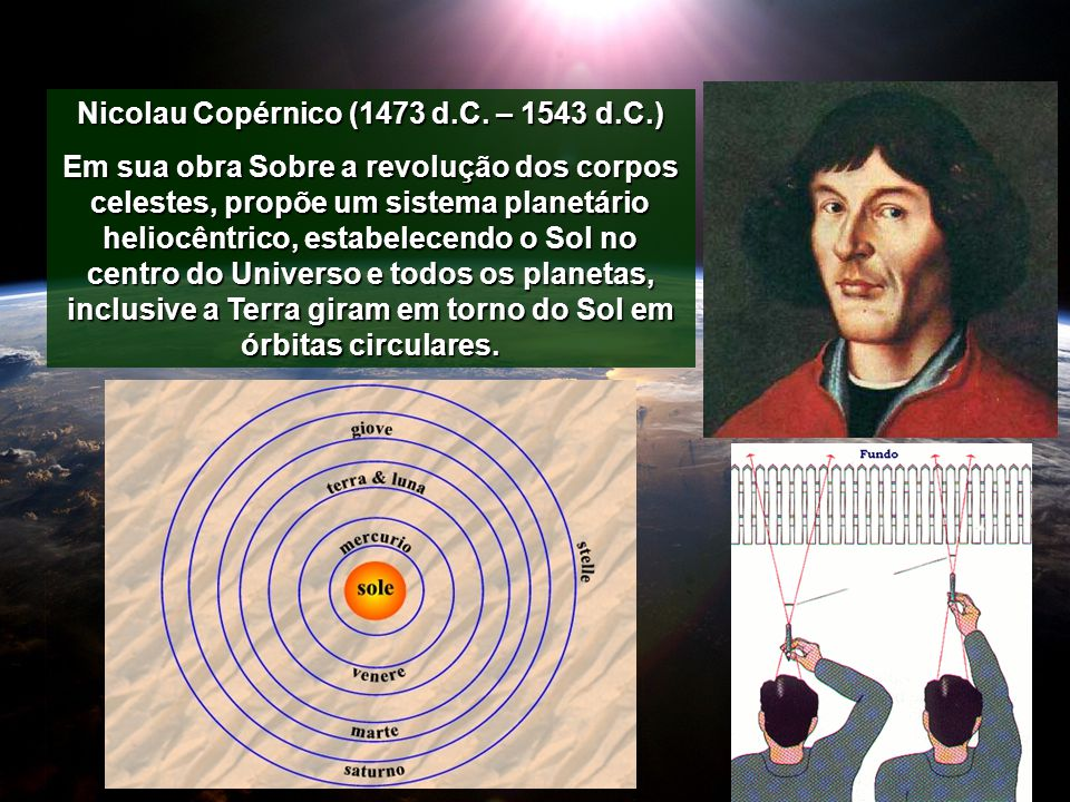 Nicolau Copérnico (1473 d.C. – 1543 d.C.)