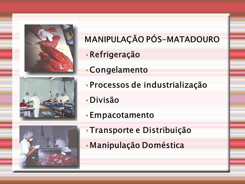 MANIPULAÇÃO PÓS-MATADOURO