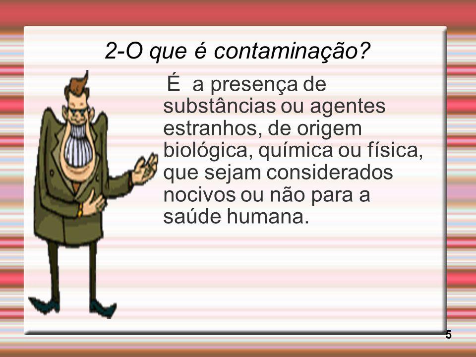 2-O que é contaminação