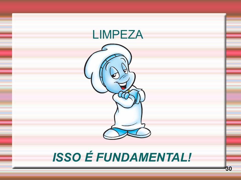 LIMPEZA ISSO É FUNDAMENTAL! 30