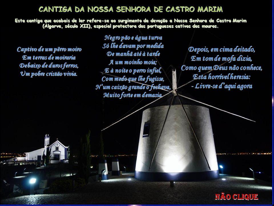 CANTIGA DA NOSSA SENHORA DE CASTRO MARIM