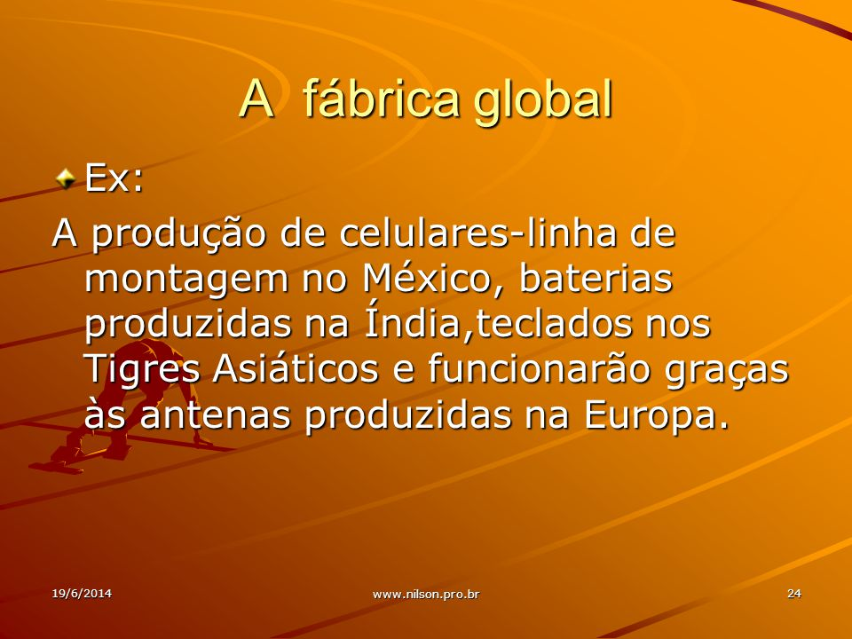 A fábrica global Ex: