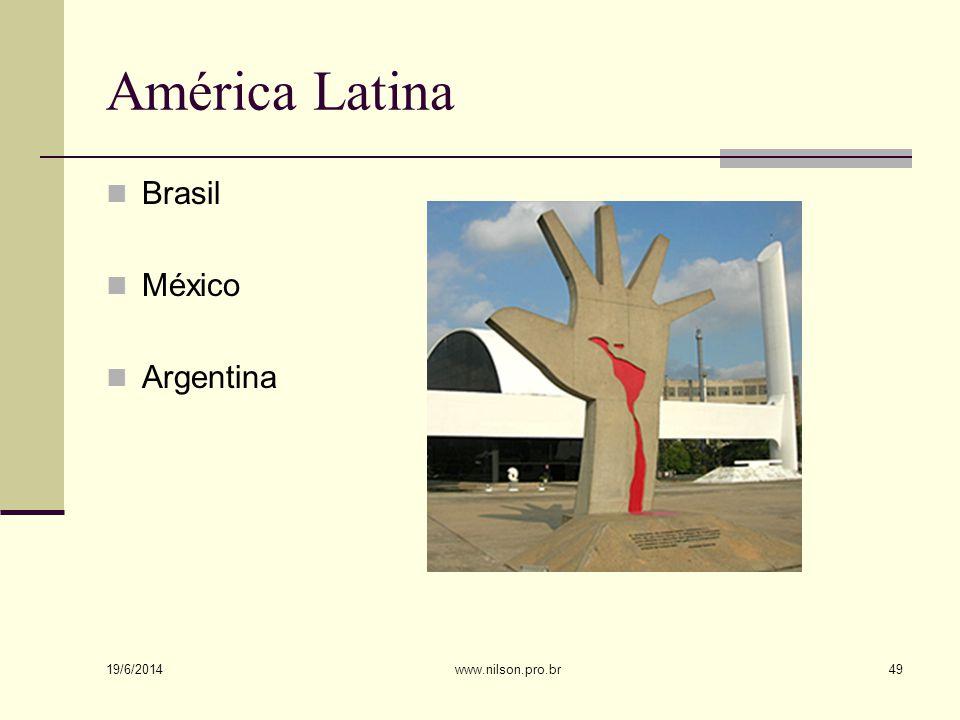 América Latina Brasil México Argentina 02/04/2017 www.nilson.pro.br