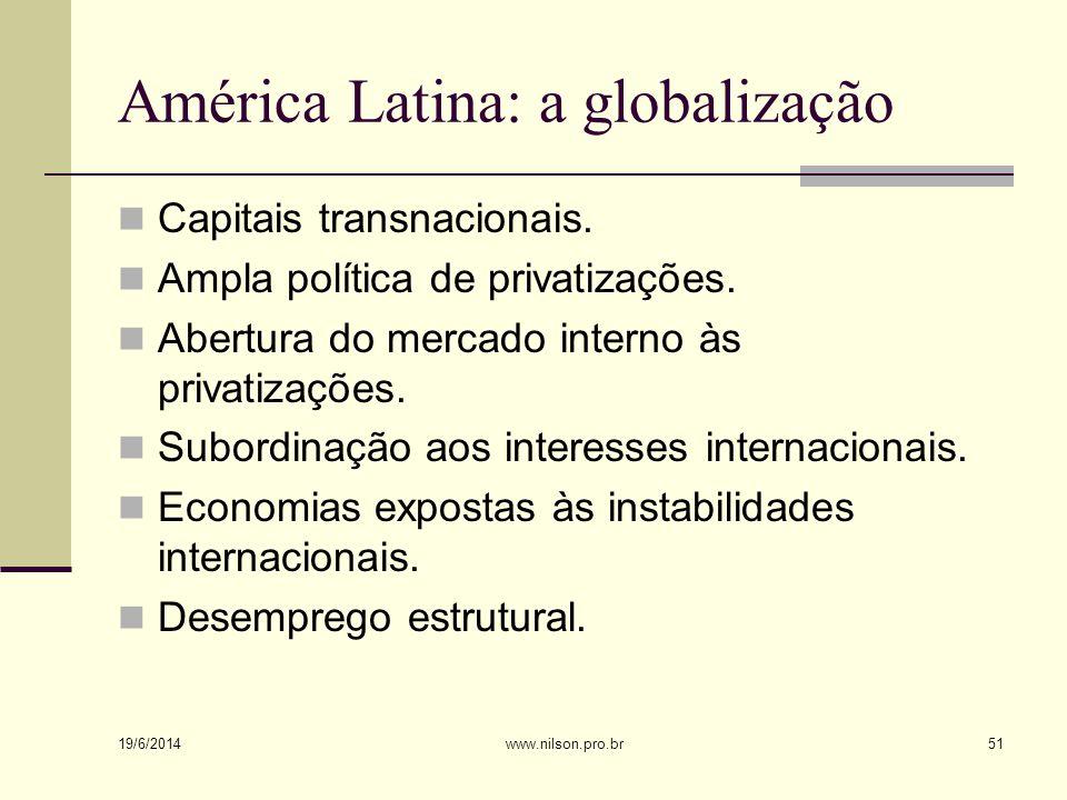 América Latina: a globalização