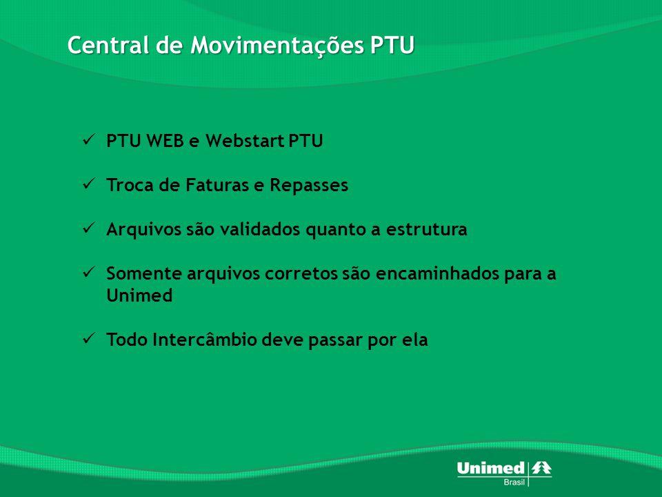 Central de Movimentações PTU