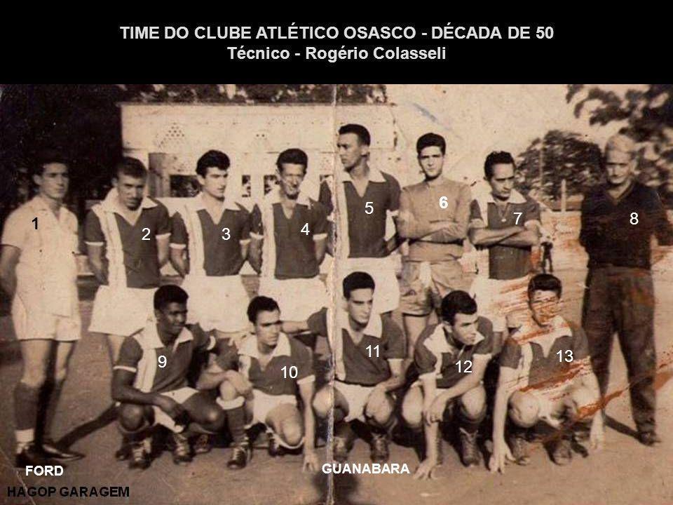 TIME DO CLUBE ATLÉTICO OSASCO - DÉCADA DE 50