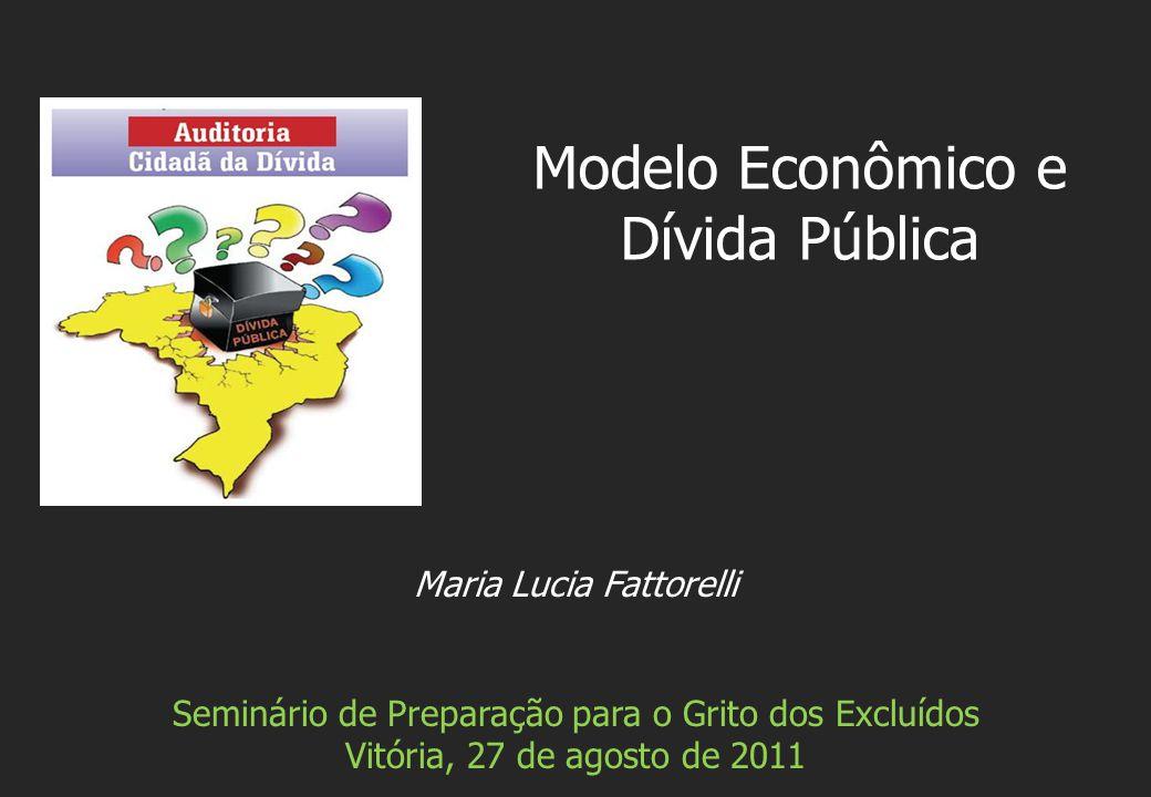 Modelo Econômico e Dívida Pública