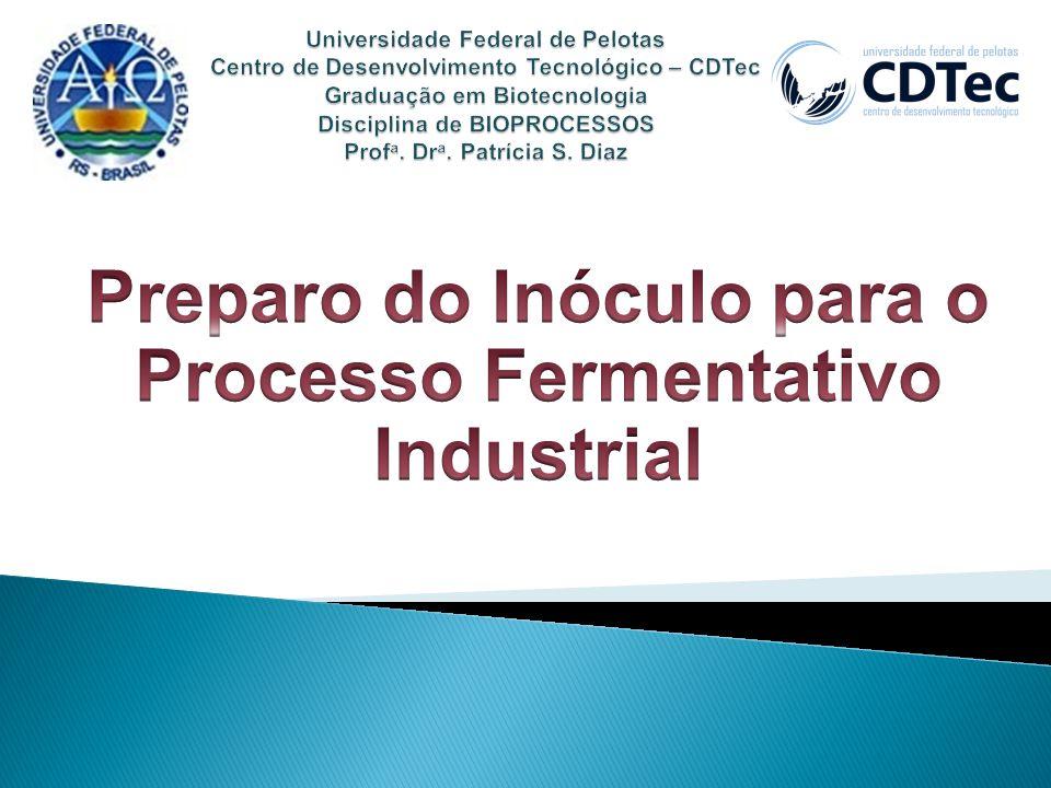 Preparo do Inóculo para o Processo Fermentativo Industrial