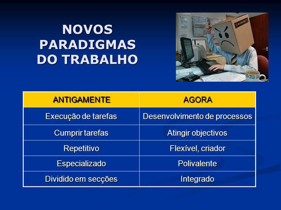 NOVOS PARADIGMAS DO TRABALHO
