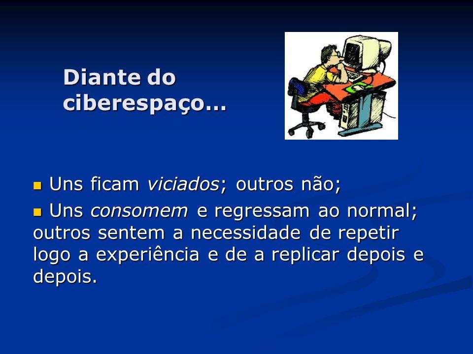 Diante do ciberespaço…