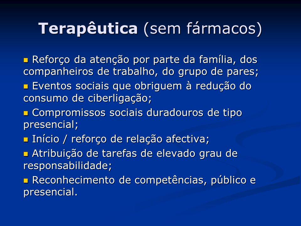Terapêutica (sem fármacos)