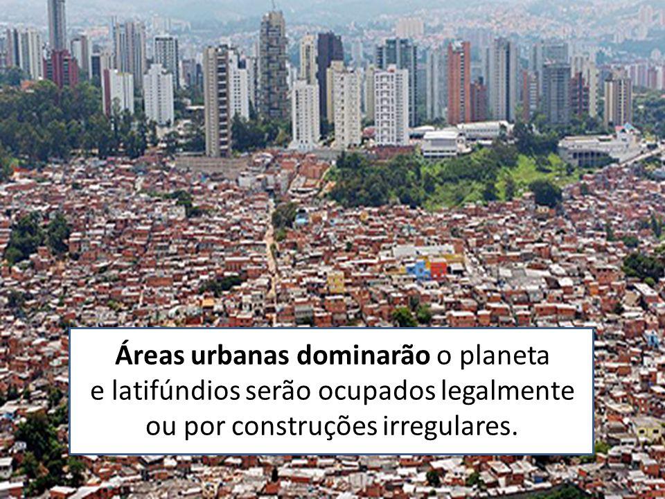 Áreas urbanas dominarão o planeta