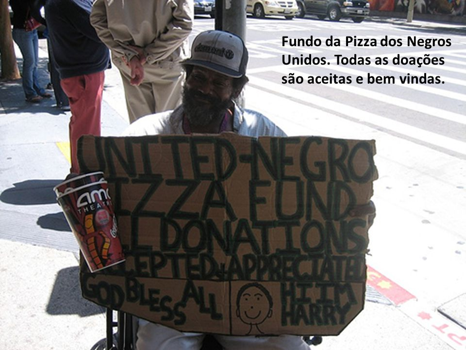 Fundo da Pizza dos Negros Unidos