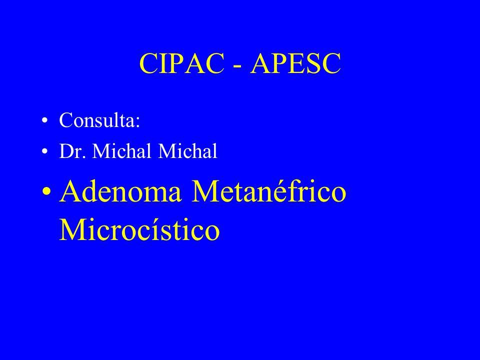 Adenoma Metanéfrico Microcístico